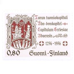 Turun tuomiokapituli 700 vuotta  postimerkki 0