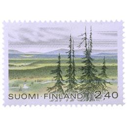 Urho Kekkosen kansallispuisto  postimerkki 2
