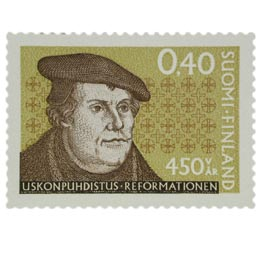 Uskonpuhdistus 450 vuotta  postimerkki 0