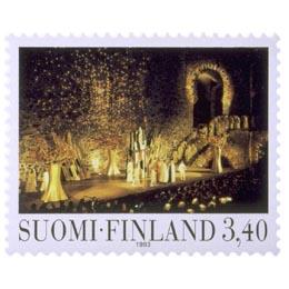 Uusi oopperatalo - W.A. Mozartin Taikahuilu  postimerkki 3
