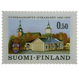 Uusikaarlepyy 350 vuotta  postimerkki 0