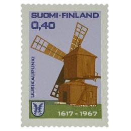 Uusikaupunki 350 vuotta  postimerkki 0