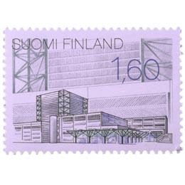 Uutta suomalaista arkkitehtuuria - Lahden teatteri  postimerkki 1