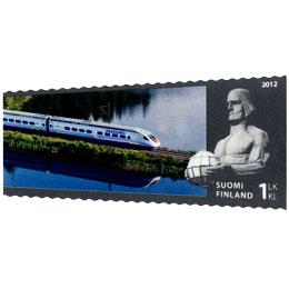 VR 150 vuotta - Allegro  postimerkki 1 luokka