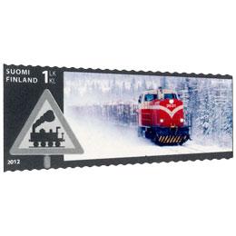 VR 150 vuotta - Dieselveturi  postimerkki 1 luokka