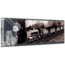 VR 150 vuotta - Ukko-Pekka  postimerkki 1 luokka