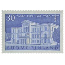Vaasa 350 vuotta sininen postimerkki 30 markka