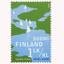 Vaasa 400 vuotta  postimerkki 1 luokka