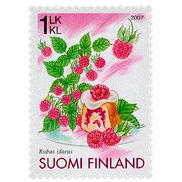 Vadelma  postimerkki 1 luokka