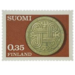 Vakuutustoiminta 150 vuotta  postimerkki 0