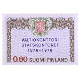 Valtiokonttorin 100 vuotta  postimerkki 0