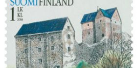 Vanhat linnat - Kastelholma  postimerkki 1 luokka