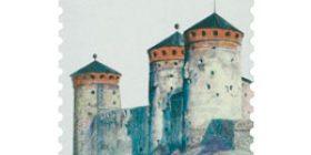 Vanhat linnat - Olavinlinna  postimerkki 1 luokka