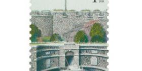 Vanhat linnat - Suomenlinna  postimerkki 1 luokka