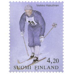 Veikko Hakulinen  postimerkki 4