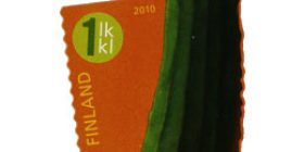Vekkulit kasvikset - Kurkku  postimerkki 1 luokka