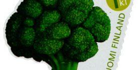 Vekkulit kasvikset - Parsakaali  postimerkki 1 luokka