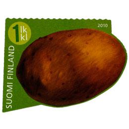 Vekkulit kasvikset - Peruna  postimerkki 1 luokka