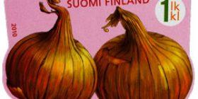 Vekkulit kasvikset - Sipuli  postimerkki 1 luokka