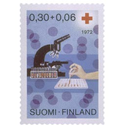 Veripalvelu  postimerkki 0