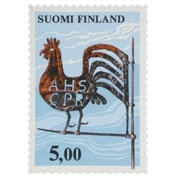Viirikukko  postimerkki 5 markka