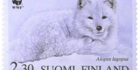 WWF - Naaleja  postimerkki 2