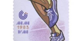 Yleisurheilun MM-kilpailut  postimerkki 1