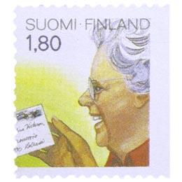 Alennuspostimerkit - Postin saaja  postimerkki 1