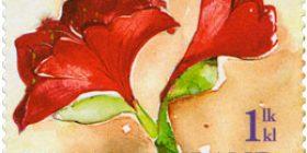 Amaryllis  postimerkki 1 luokka