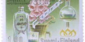 Apteekkilaitos Suomessa 300 vuotta  postimerkki 1