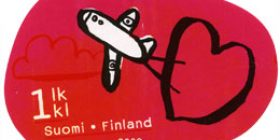 Catch U - Lentokone  postimerkki 1 luokka