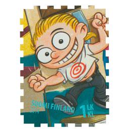 Duudsonit - Jarppi  postimerkki 1 luokka