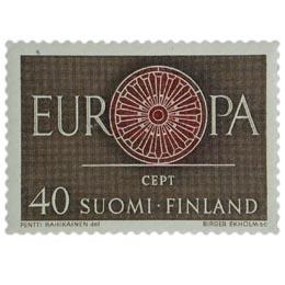 Europa-Cept  postimerkki 40 markka