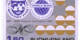 IMF IBRD  postimerkki 1