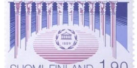 IPU 100 vuotta  postimerkki 1