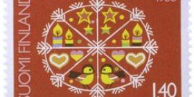 Joulukoristeet  postimerkki 1