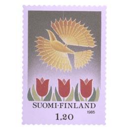 Joululintu  postimerkki 1