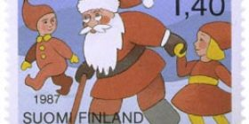 Joulupukki  postimerkki 1