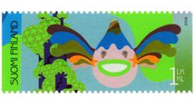 Juhlitaan - Kala  postimerkki 1 luokka