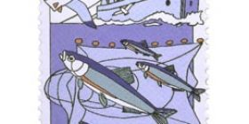 Kalastus - Troolaus  postimerkki 2