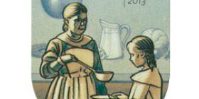 Kansakoulusta Pisaan - Kouluruokailu  postimerkki 1 luokka