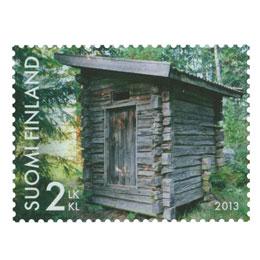 Kauneimmat huussit - Talonpoikaishuussi  postimerkki 2 luokka