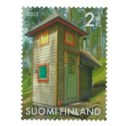 Kauneimmat huussit - Tornihuussi  postimerkki 2 luokka