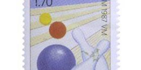 Keilailun MM-kisat  postimerkki 1