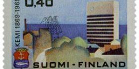 Kemi 100 vuotta  postimerkki 0