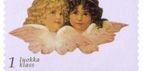 Kiiltokuvia  postimerkki 1 luokka