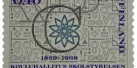 Kouluhallitus 100 vuotta  postimerkki 0