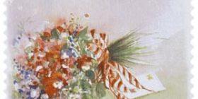 Kukkia - Kimppu  postimerkki 1 luokka