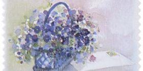 Kukkia - Kori  postimerkki 1 luokka