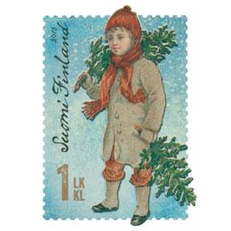 Kuusipoika  postimerkki 1 luokka